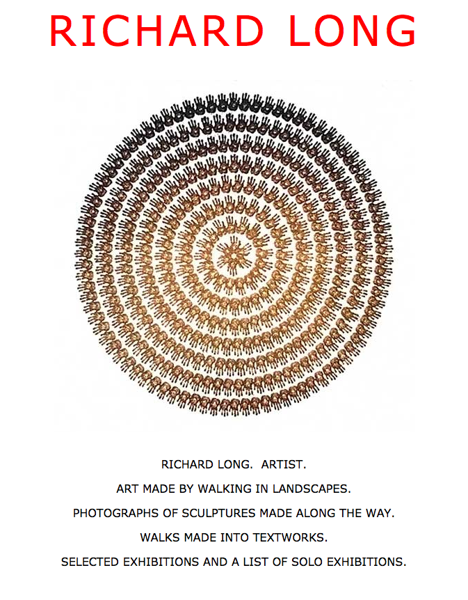 Richard Long Official Website